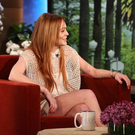 Lindsay Lohan Interview On The Ellen DeGeneres Show