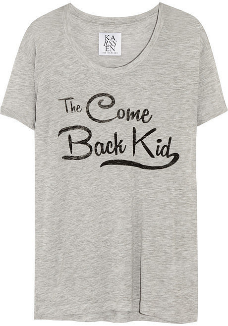Zoe Karssen Come Back Kid Jersey T-Shirt ($75)