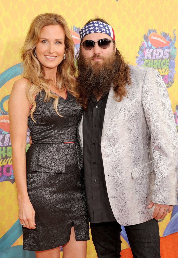 Willie and Korie Robertson brought a high dose of Duck Dynasty fun.