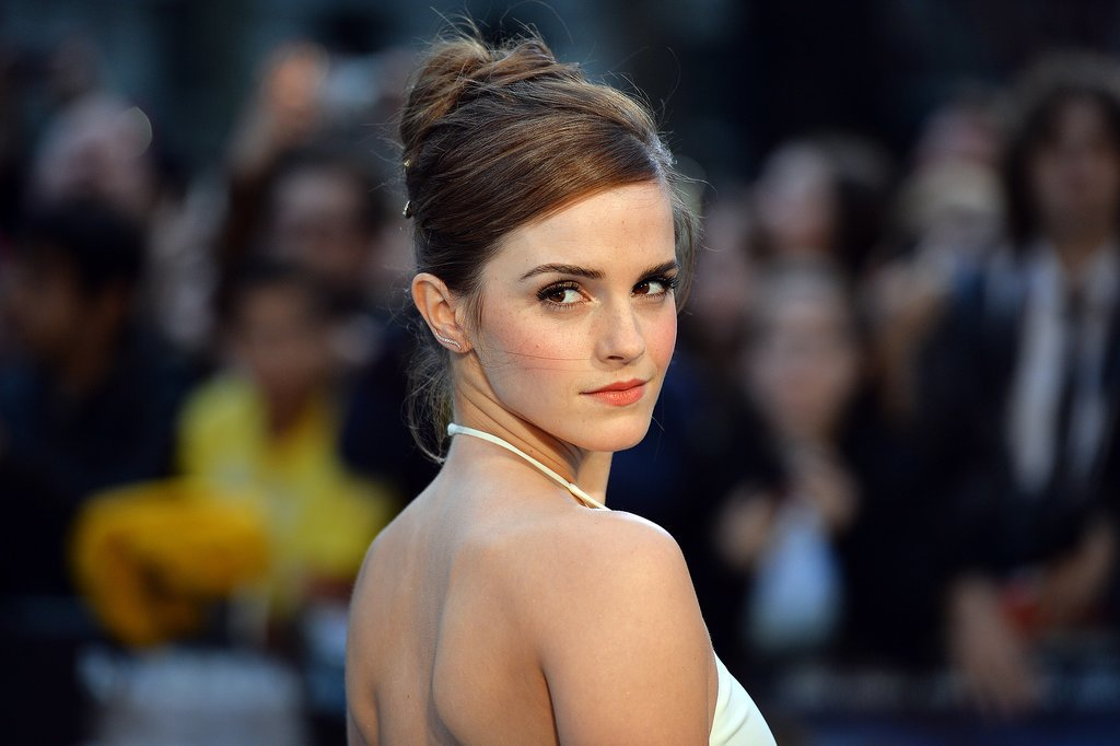 Emma Watson at the UK Noah Premiere