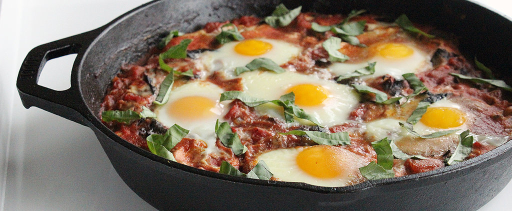 Bring Greens (and Even More Protein) to Spicy Baked Eggs