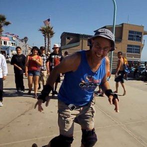 Former Doctor Turned San Diego Boardwalk Skater