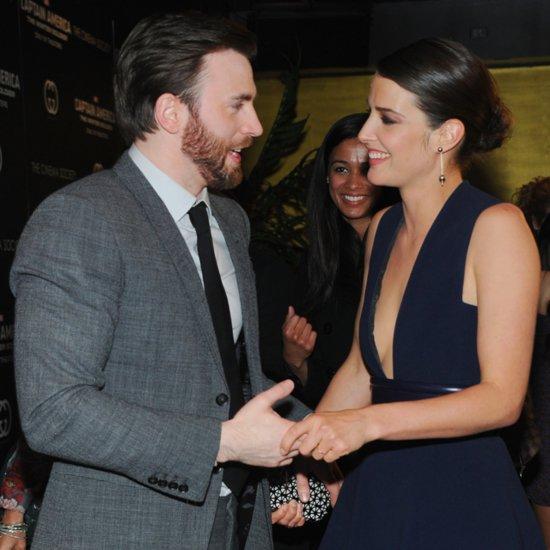 Cobie Smulders at Captain America Screening in NYC