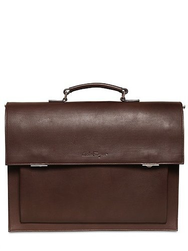 Salvatore Ferragamo - Attila Leather Briefcase/Backpack