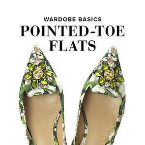Point-Toe Flats   Shopping