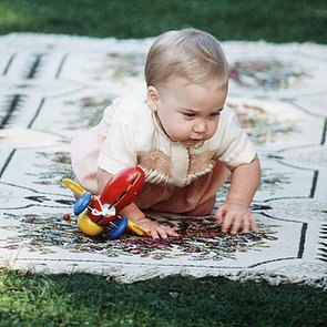 Prince William as a Baby in Australia