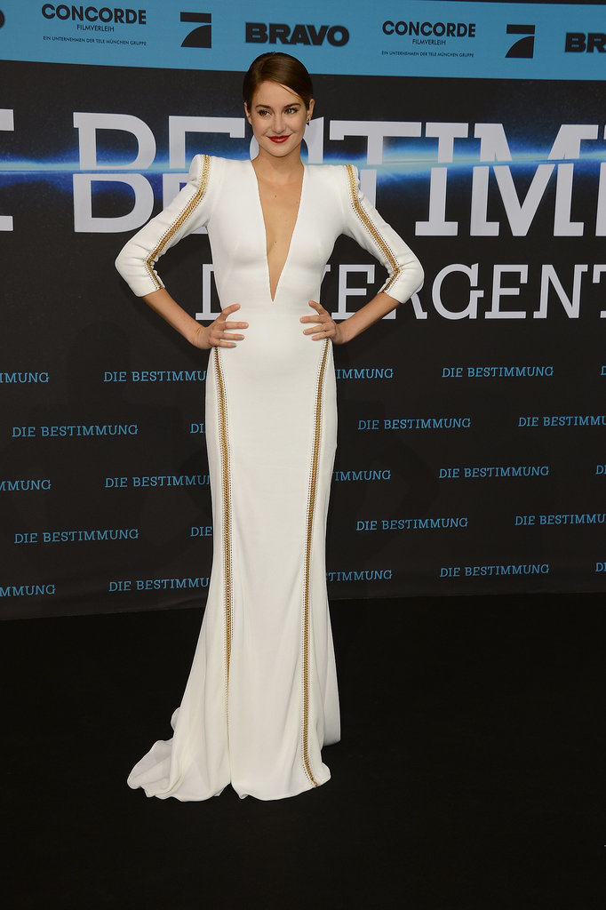 Shailene Woodley at the Berlin <b>Divergent</b> Premiere