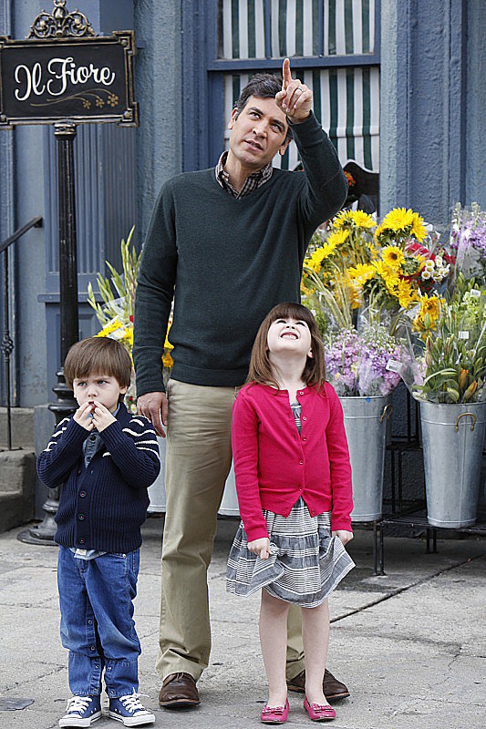 Ted and his little kids are adorable.