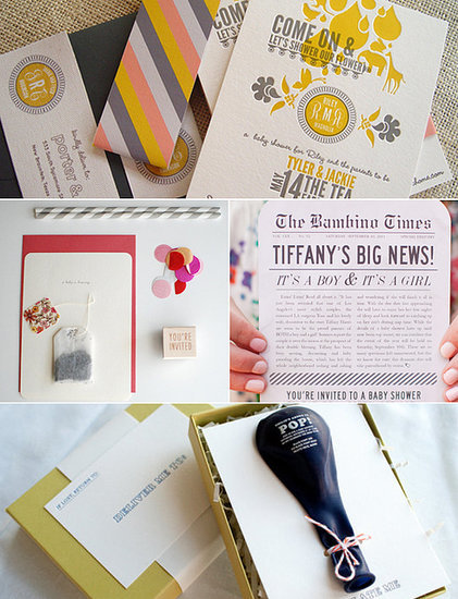 Invitation Inspiration! 20 Creative Baby Shower Invites
