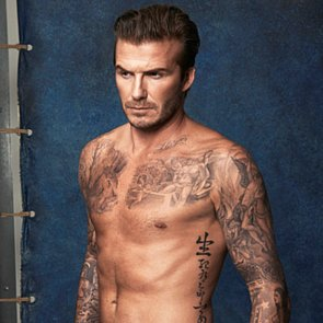 David Beckham Shirtless in Underwear For H&M