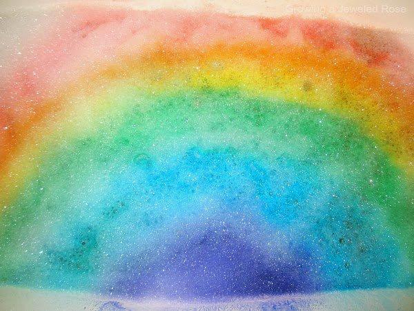 Rainbow Bubble Bath