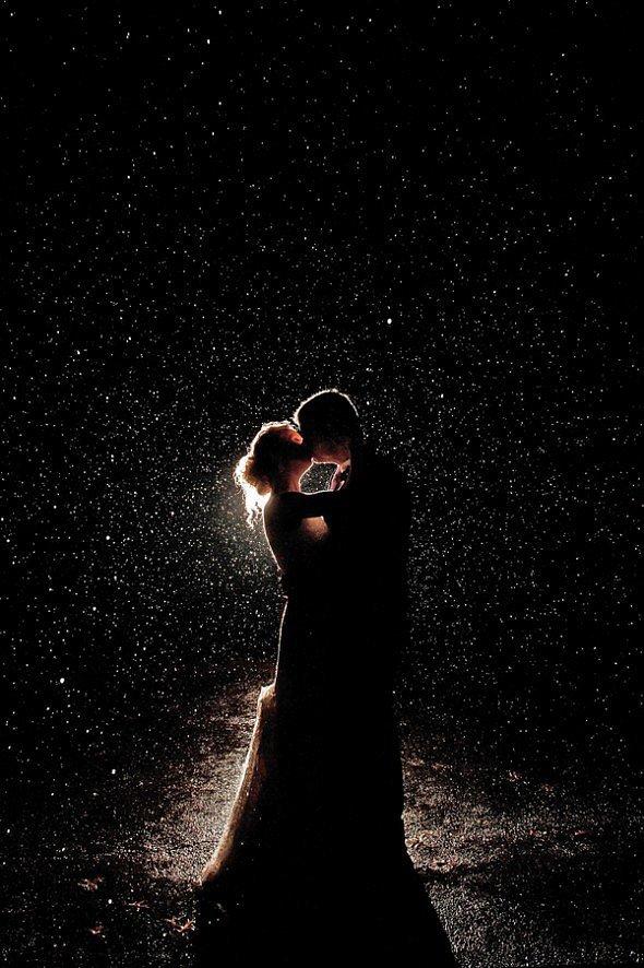 Rainy Night Kiss