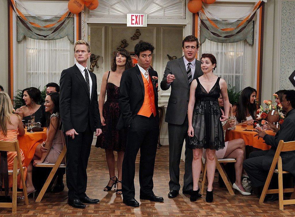 The gang also attends plenty of their friends' weddings, like when Ted plays best man for high school buddy Punchy.