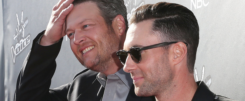 "Adam Levine and Blake Shelton's Brotherly Love Calls For ""Talking Sh*t"""