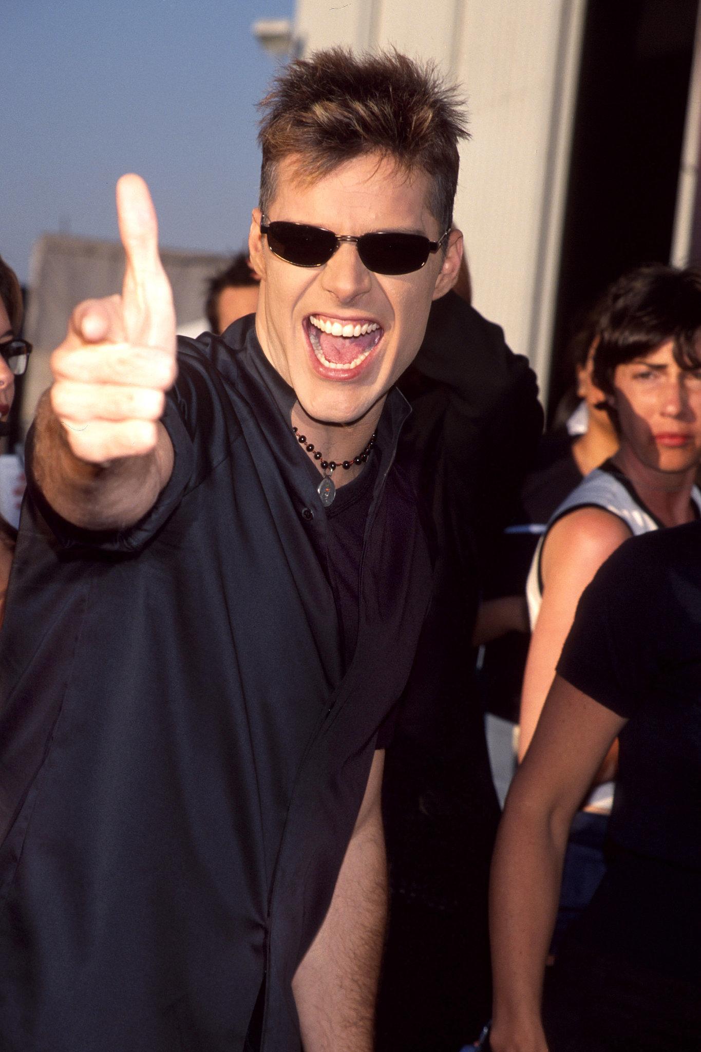 Ricky Martin lived la vida loca.