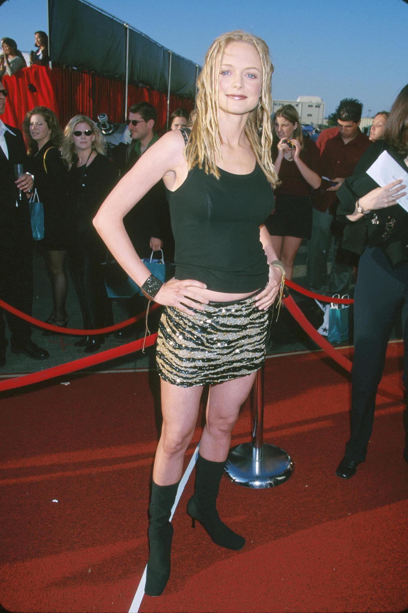 Heather Graham channeled Felicity Shagwell.