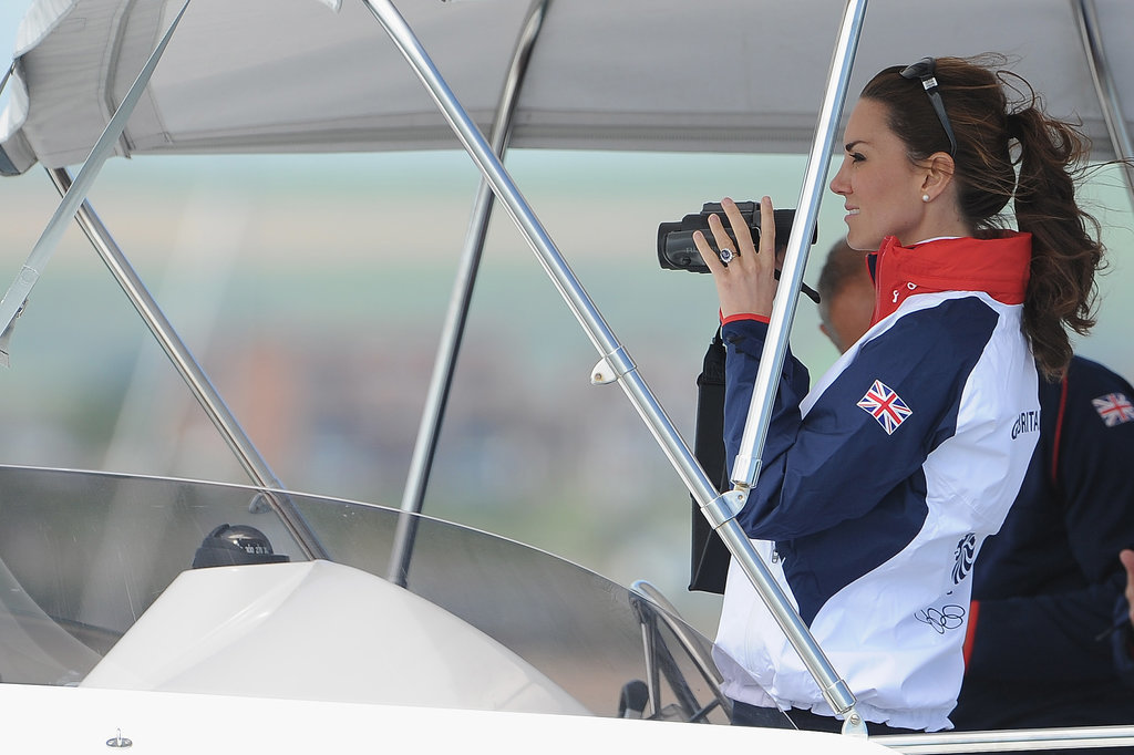 """Kate """"follows race sailing keenly"""" and will have a chance to do some herself. According to an official briefing before the trip, Kate Middleton will do some competitive sailing on Friday, April 11. Their private secretary explained:  """"The couple will arrive at the Emirates Team New Zealand base and board a boat that will take them to two of the team's yachts — the Duke on one, the Duchess on the other. There will be a number of 'informal' match races between the two racing yachts. As everyone probably knows, however, the Duke and Duchess are just a little competitive.""""  They're spending Easter at the zoo.  The royal family will attend Easter service at St. Andrew's Cathedral in Sydney and then travel to Taronga Zoo. The Australian government made a donation to the zoo's bilby-preservation program on the occasion of George's birth, so we're hoping for an appearance by the little prince.  It's not all business.  There are various days carved out as private time for the young Cambridge family. While there are public events schedule for Easter, for example, Easter Monday (April 21) is a day they'll spend alone. It's also a public holiday in Australia."""