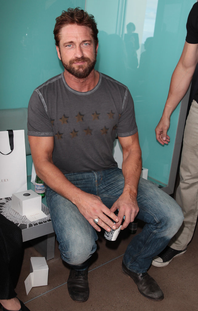 Gerard Butler at MBFWA Day Two