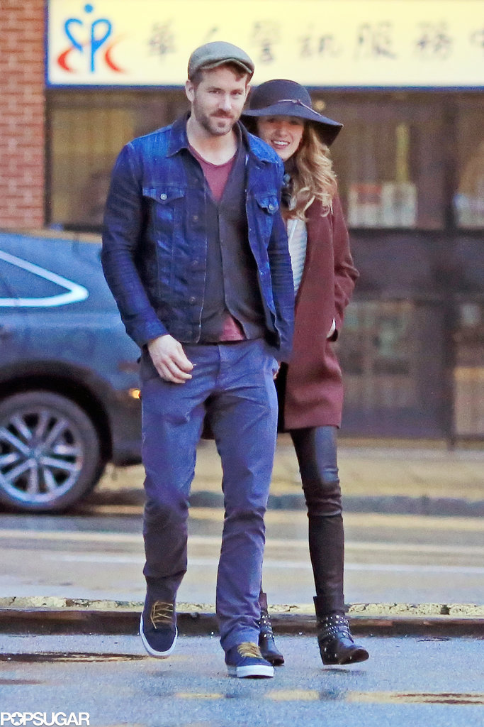 Blake Lively Takes a Break For a Date With Ryan Reynolds