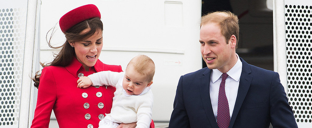 Royal Report: Prince George Greets New Zealand With Open Arms