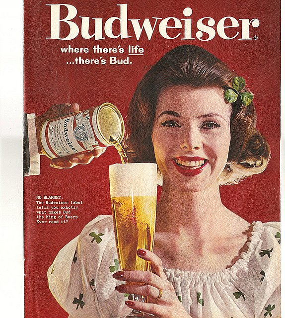 When you drink it out of a glass, no one has to know it's Bud from a can!