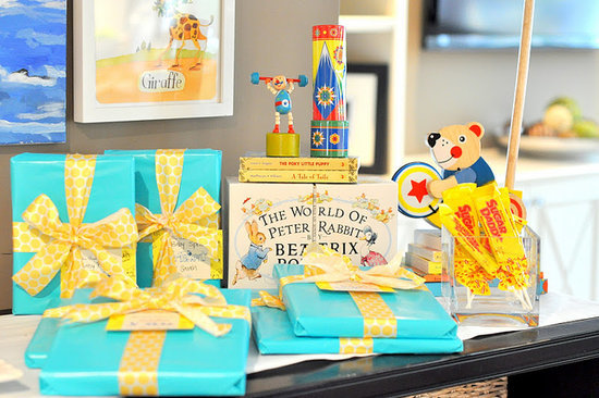 A Golden Books Baby Shower!