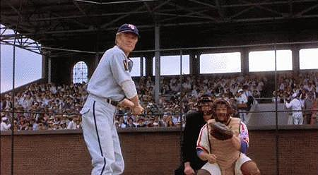 Robert Redford was also an '80s baseball player.