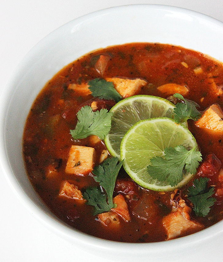 Lunch and Dinner: Chicken Tortilla-Less Soup