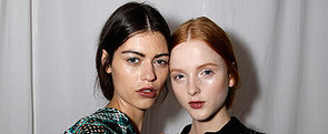 Ginger & Smart Go For a Soft Gothic Makeup and Luxury Ponytails We Love