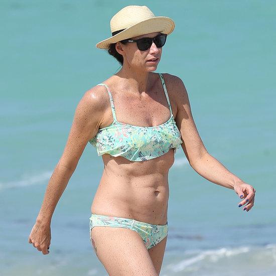 Minnie Driver in Her Bikini in Miami 2014