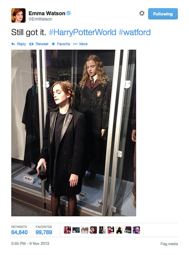 Sure, she'll always have just a little bit of Hermione in her.