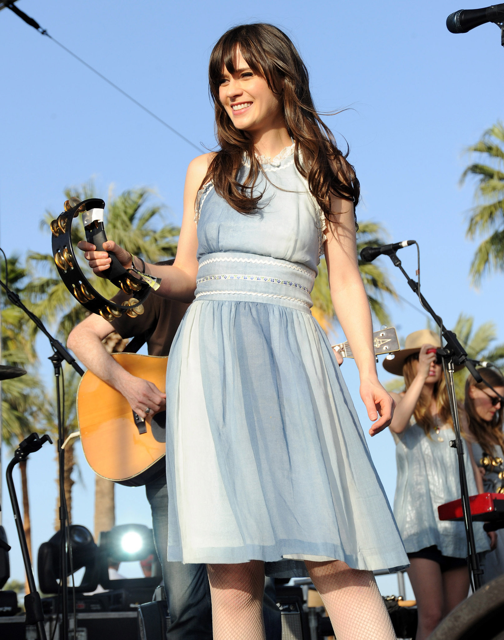 Zooey Deschanel and her band She & Him were part of the 2010 lineup.