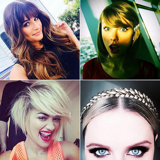 Celebrity Beauty Instagrams | April 9, 2014