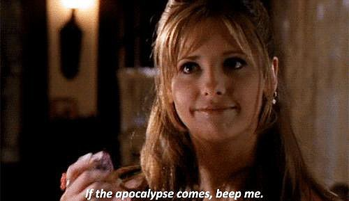 Buffy's lack of fear really defines her.