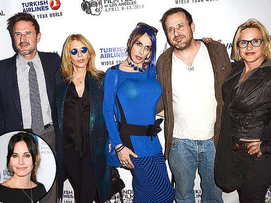 Courteney Cox and Boyfriend Johnny McDaid Attend David Arquette's Sold Premiere