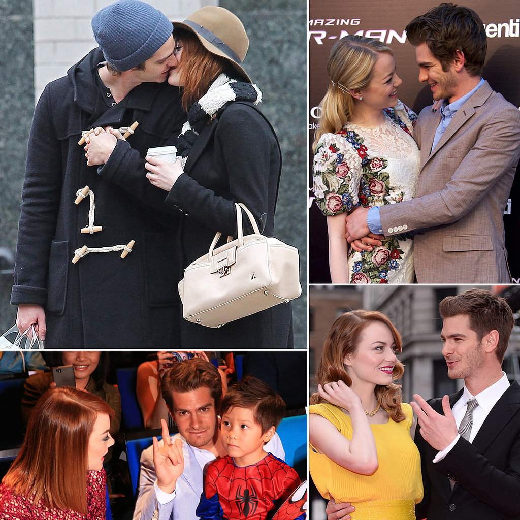 Andrew Garfield and Emma Stone's Cutest Pictures   POPSUGAR Celebrity