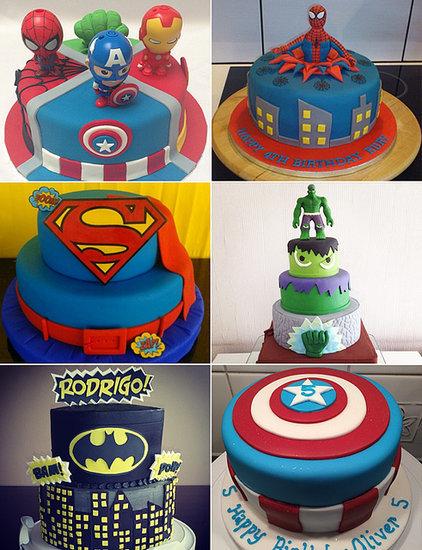 Save the Day With 25 Superhero Birthday Cakes!