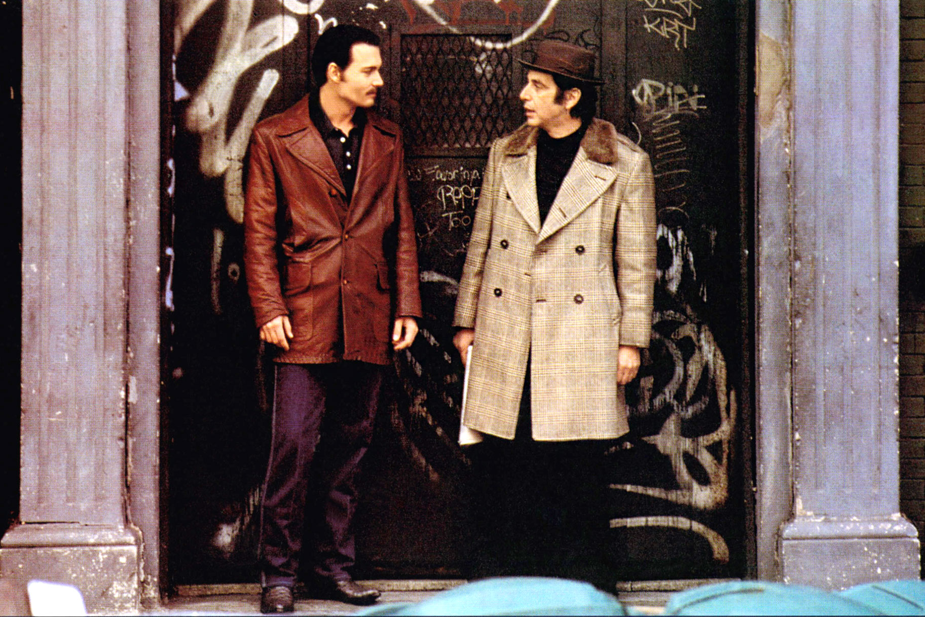 """Donnie Brasco came out and you thought, """"Hey, Johnny's an acting icon too!"""""""