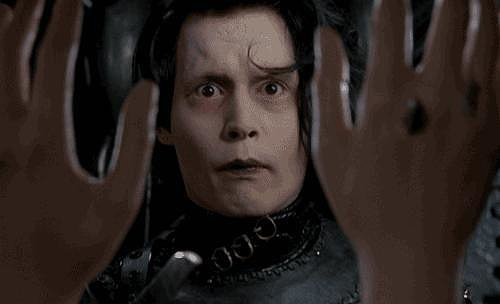Then you saw Edward Scissorhands and fell for his quirky side.
