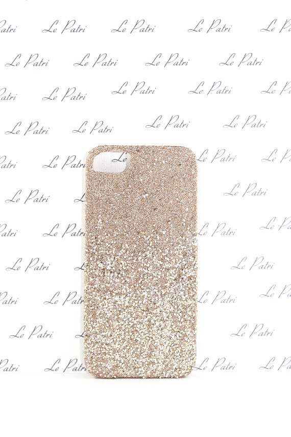Champagne Gold and Silver Ombré by LePatri iPhone 4/4S/5 Case