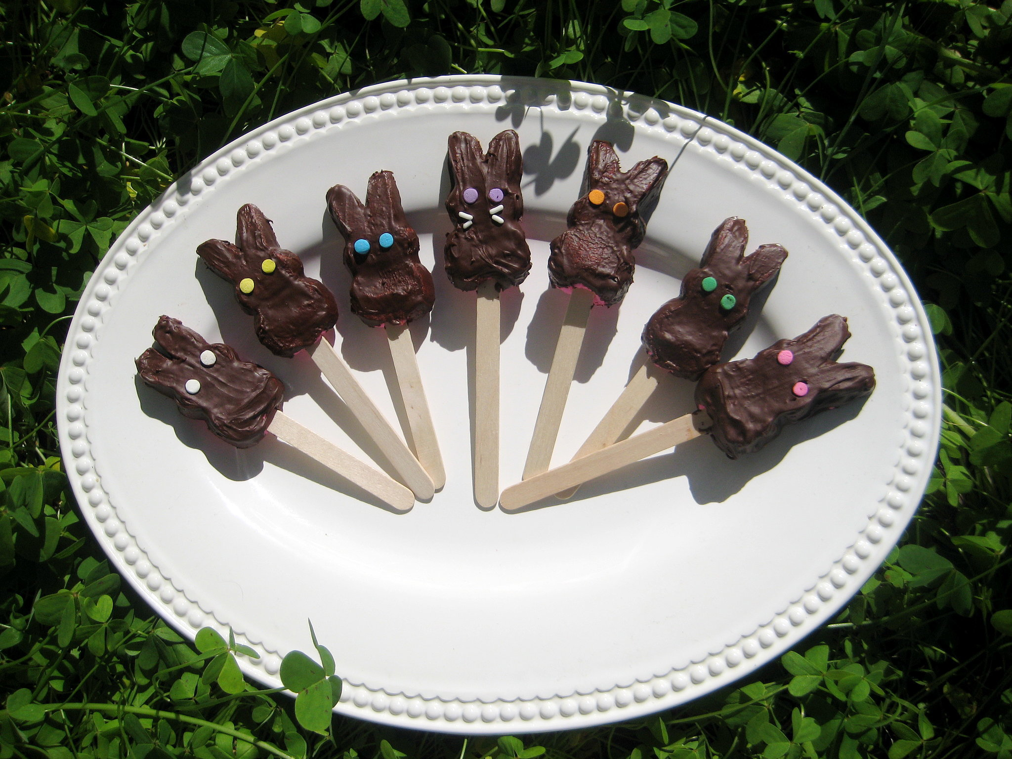 Chocolate-Covered Peeps