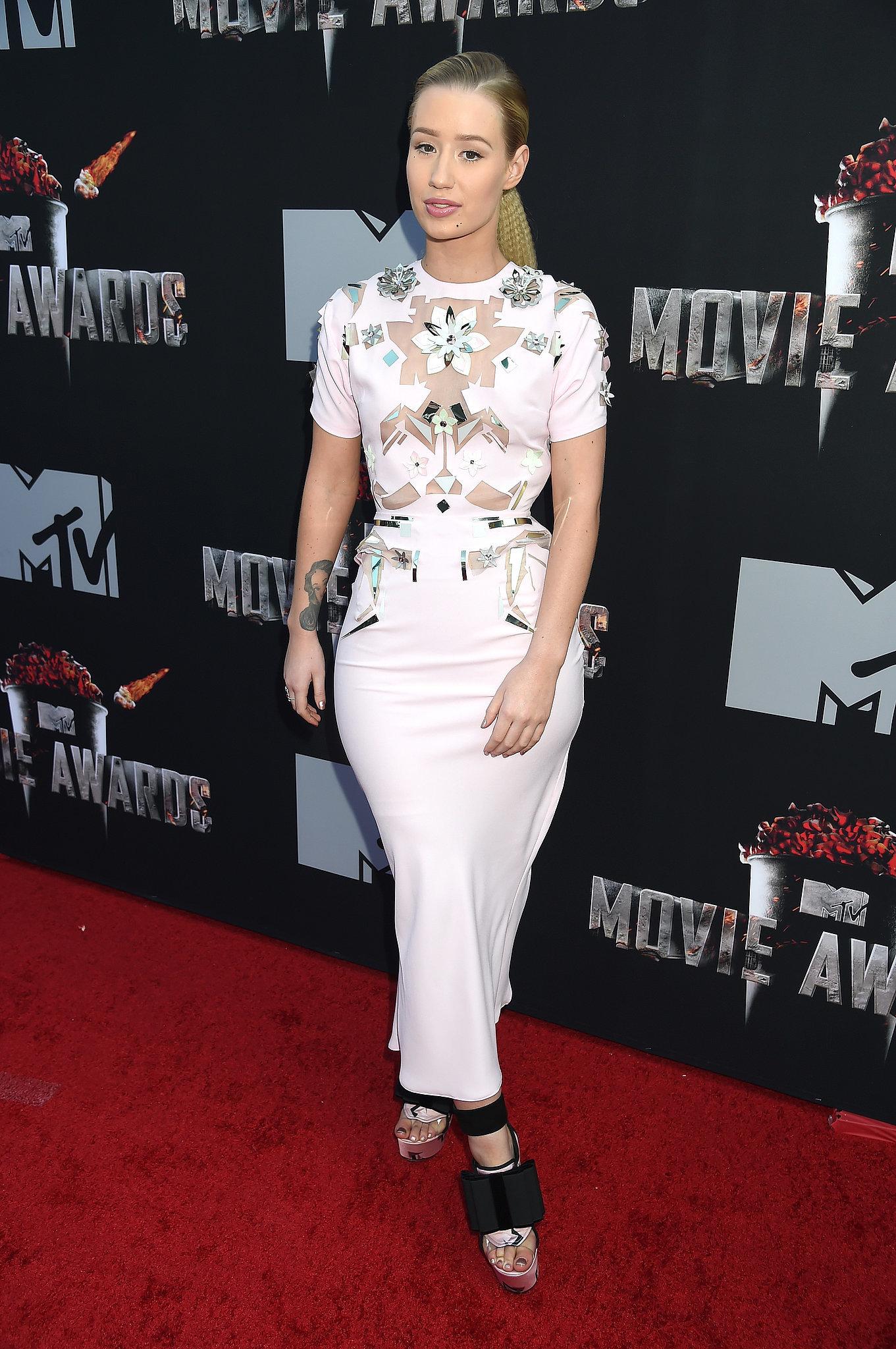 Iggy Azalea at the 2014 MTV Movie Awards