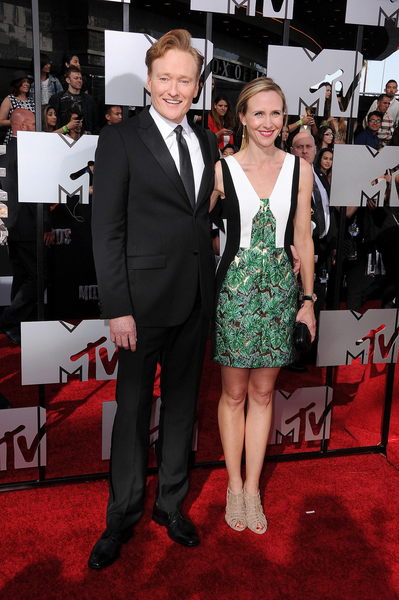 Conan O'brien Wife Liza Powel Conan O'brien And Liza Powel