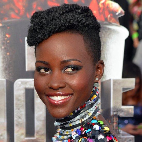 Lupita Nyong'o Hair and Makeup at MTV Movie Awards 2014