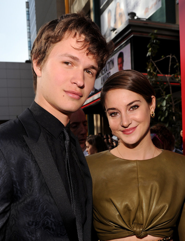 Shailene and Ansel Make One Adorable Costar Duo