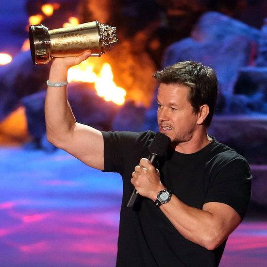 Mark Wahlberg at the MTV Movie Awards 2014