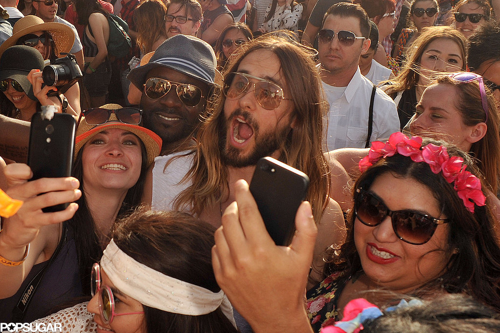 Jared Leto snapped a selfie.