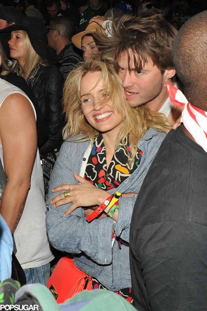 Dianna Agron and her rumored boyfriend, Thomas Cocquerel, got close.