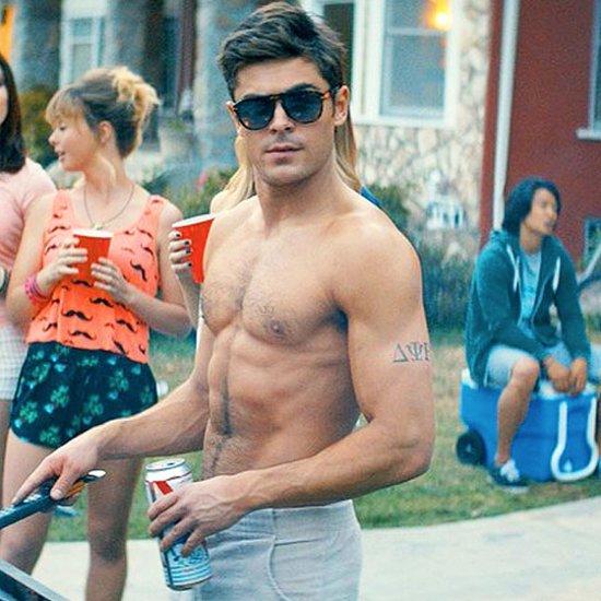 Hot Zac Efron Shirtless GIFs