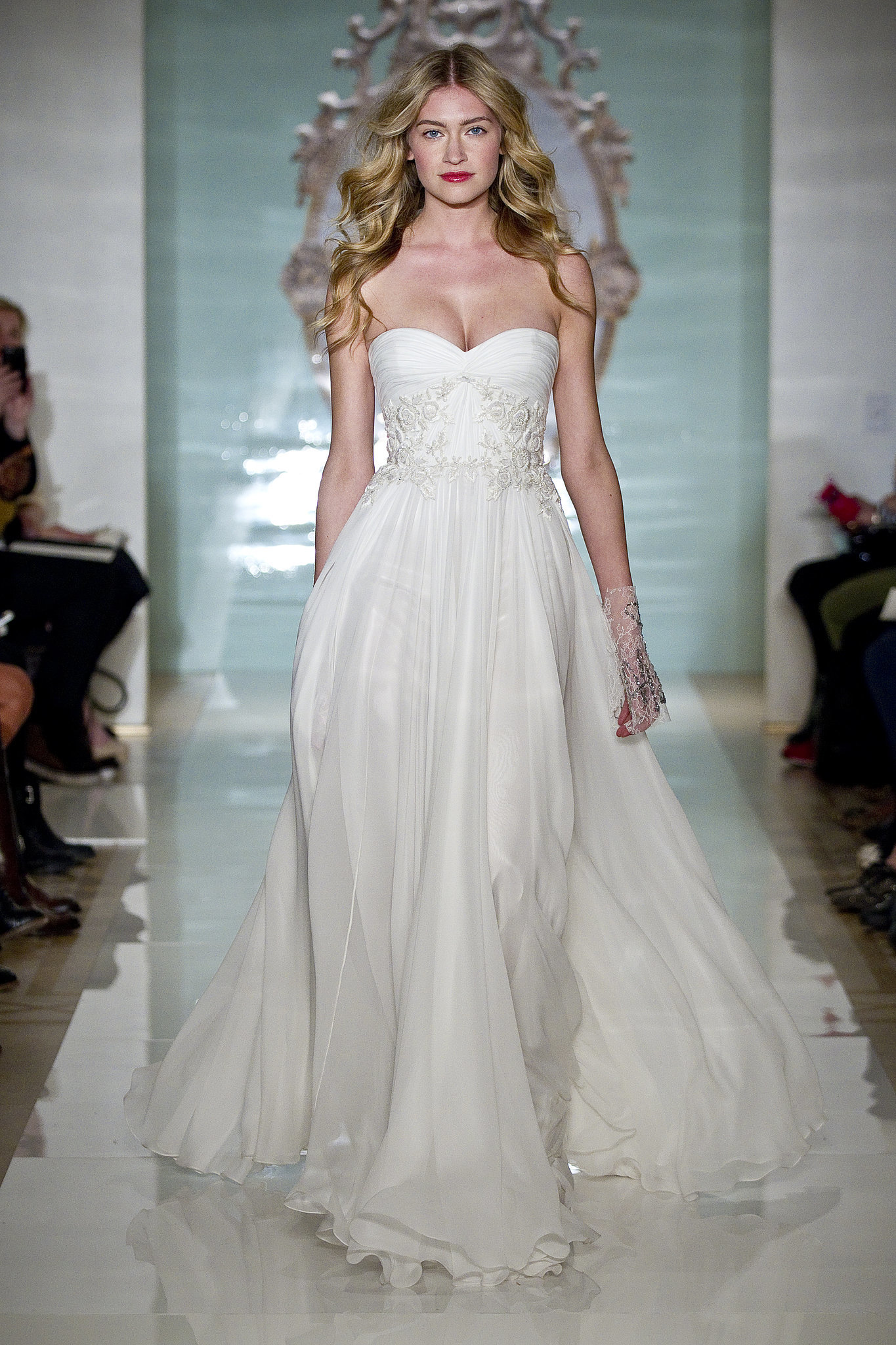 reem acra bridal spring 2015 we can 39 t imagine a single bride who